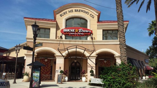The new House Of Brewz Taps &Tapas. Now open in the Gulf Coast Town Center.