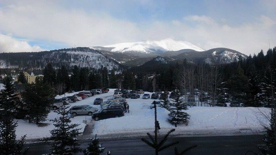 DoubleTree by Hilton Breckenridge: view from room (every hotel near the mountain has nice view)