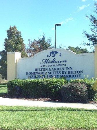 Hilton Garden Inn Lake Buena Vista/Orlando: area sign