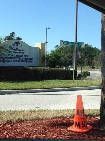 Hilton Garden Inn Lake Buena Vista/Orlando: street signs