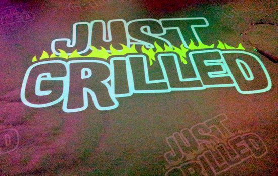 Just Grilled: My placemat
