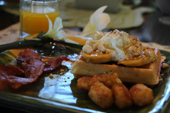 Honu Kai B&B : Breakfast
