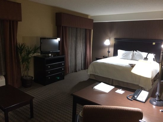 Hampton Inn & Suites Chadds Ford: My Room