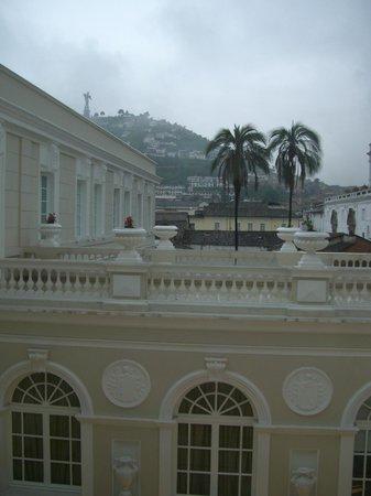 Casa Gangotena: Historic city view from the room...