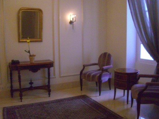 Casa Gangotena: Superb hallway, each corner something that has been carefully thought through...