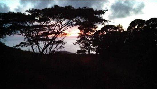 La Tierra Divina: Sunset from Ocean View