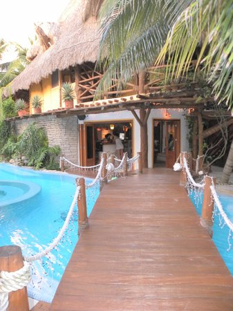 Holbox Hotel Casa las Tortugas - Petit Beach Hotel & Spa : Réception