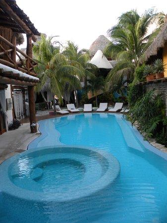 Holbox Hotel Casa las Tortugas - Petit Beach Hotel & Spa : Piscine
