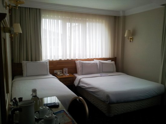 Erboy Hotel: Our Room