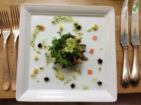 Kinloch Lodge: The food is beautifully presented (and mighty delicious). They'll accommodate dietary restrictio