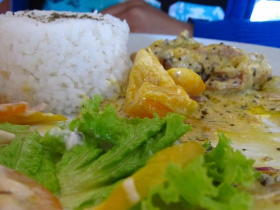 Casa de Carlo: food