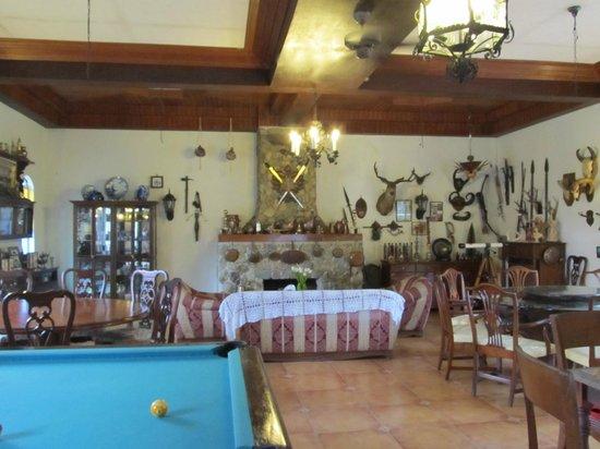 Casa de Carlo: quirky lobby