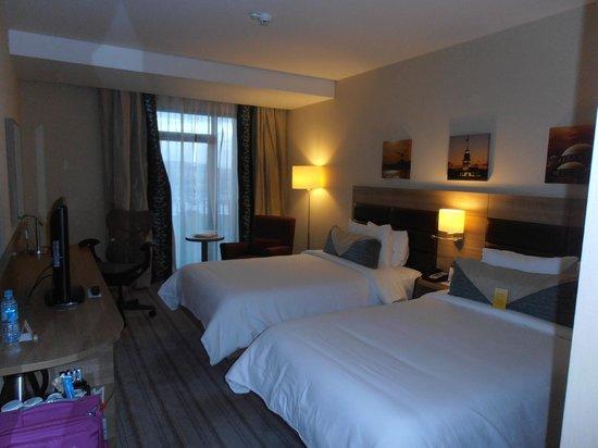 Hilton Garden Inn Istanbul Golden Horn Turkey: The room
