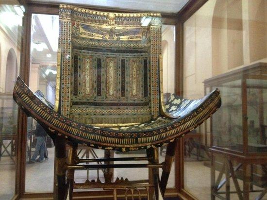 Musée égyptien du Caire : chair