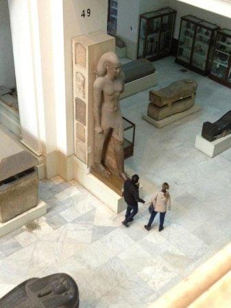 Musée égyptien du Caire : Huge statues