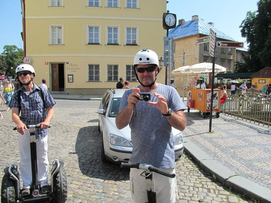 Segway Rent Prague : It is easy !