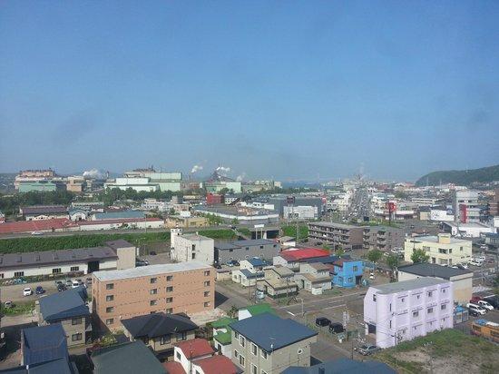 Hotel Route-Inn Hotel Higashi Muroran Ekimae: view from hotel room.