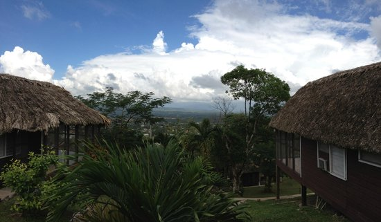 Cahal Pech Village Resort : View from the cabañas