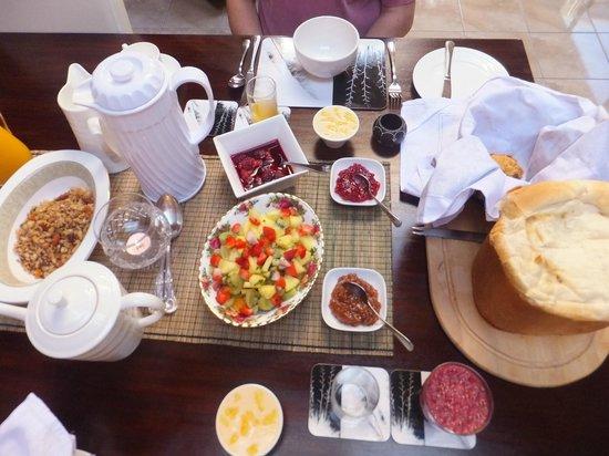 Mokoia Downs Estate B&B: Best breakfast in NZ