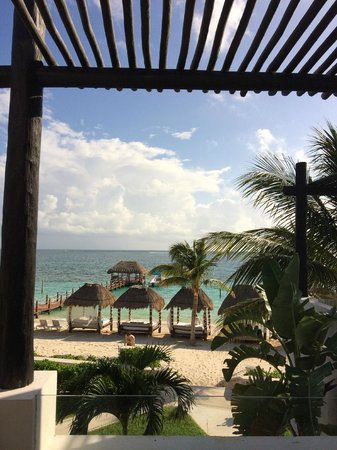 Azul Beach Hotel: View from our room