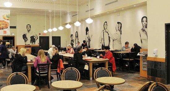 Paillard : inner of the cafe