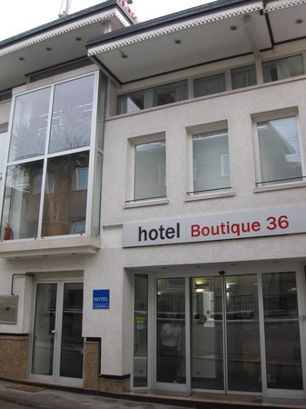 Hotel Boutique 36 : from outside