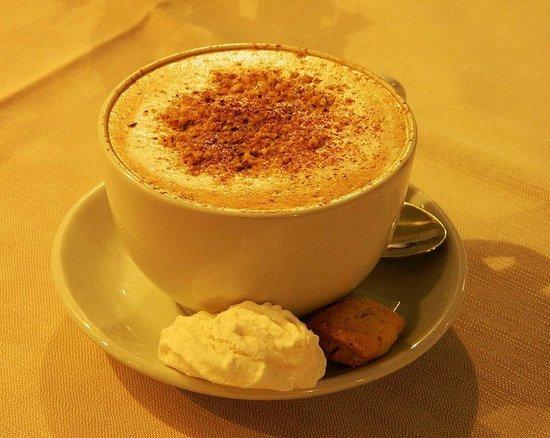 Agriturismo Casa Turchetti: Un Cappuccino bello e buono!