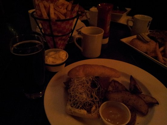 Economy Shoe Shop Cafe & Bar: our meal