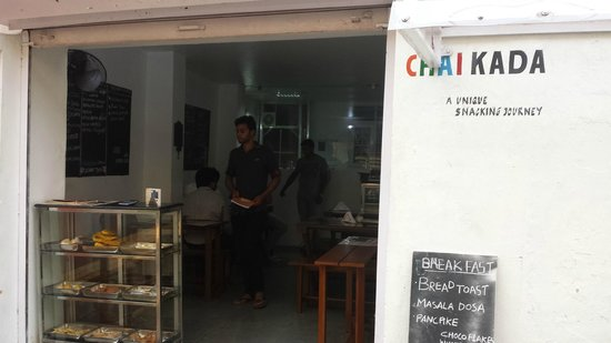 Chai Kada: ENTRANCE TO A GOOD SNACK