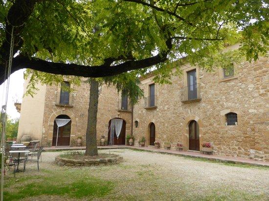 Villa Trigona: Vista generald el edificio