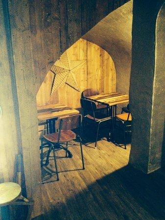 Grosvenor Fish Bar: Dining rooms underground