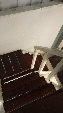 Kiram's Village: Broccoli's cabin staircase