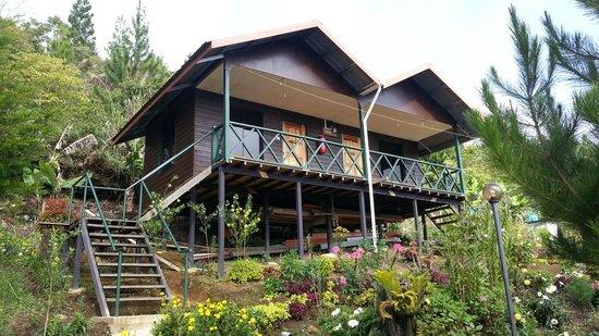 Kiram's Village: Newly built cabin