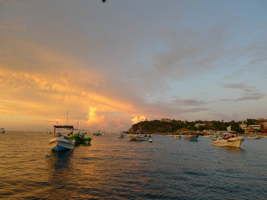 Omar's Sportfishing: At anchor - Puerto Escondido at dawn