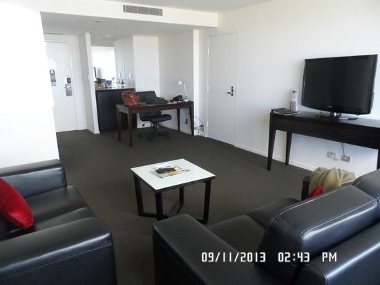 Grand Chancellor Hotel Hobart: Living Room