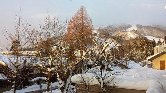 Hakuba Springs Hotel: Stunning view from my room