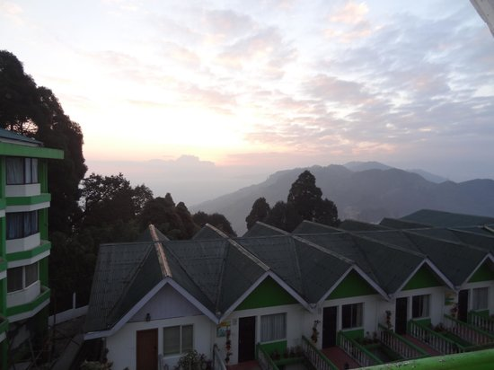 Darjeeling - Khush Alaya, A Sterling Holidays Resort: view from balcony