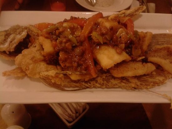 Arion Swiss-Belhotel Bandung: sweet sour fish