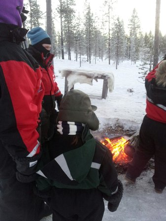 Lapland Safaris: Trying to keep warm