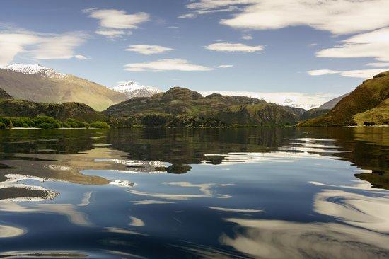 Wanaka Kayaks Sup & Sail: Glendu Bay, its like this ALOT!