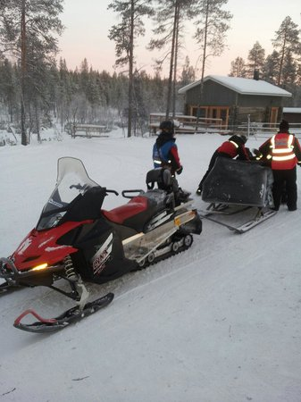 Lapland Safaris: Off to find Santa