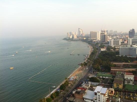 Hilton Pattaya: view from 33