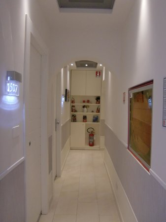 Hotel Scott House : 廊下