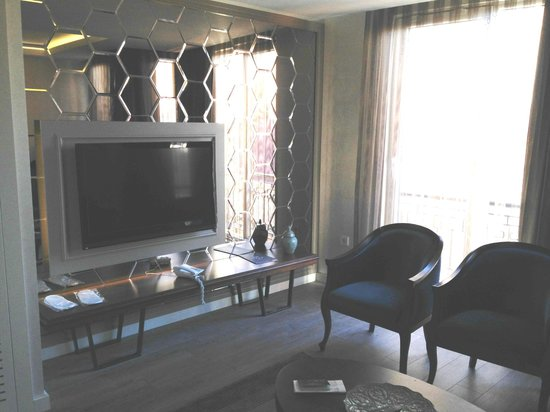 Suiteness Taksim Hotel : living room