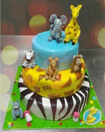 Wondrous Children Birthday Cake Picture Of Eclair Chennai Madras Personalised Birthday Cards Veneteletsinfo