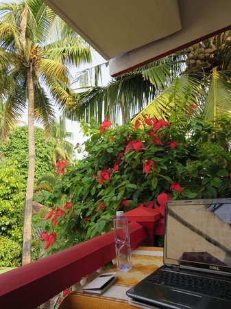Maison Casero Home Stay : The balcony corner
