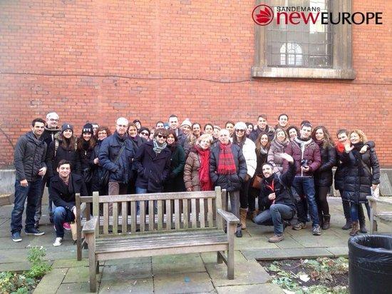 SANDEMANs NEW Europe - London: Royal Tour con José :)