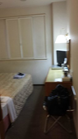 Hotel New Gaea Tenjinminami: 客室(シングル)