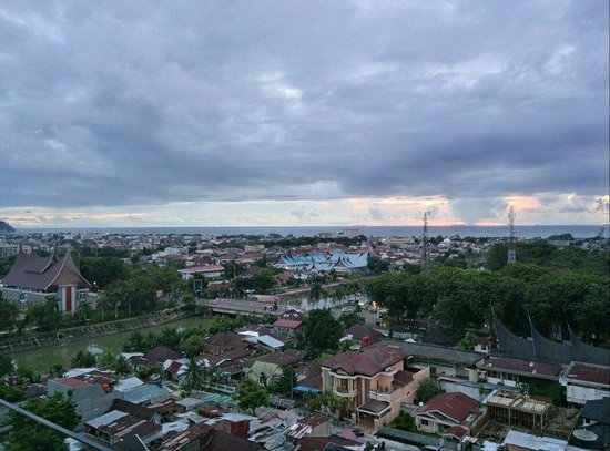 Ibis Padang: view from rooftop cafe