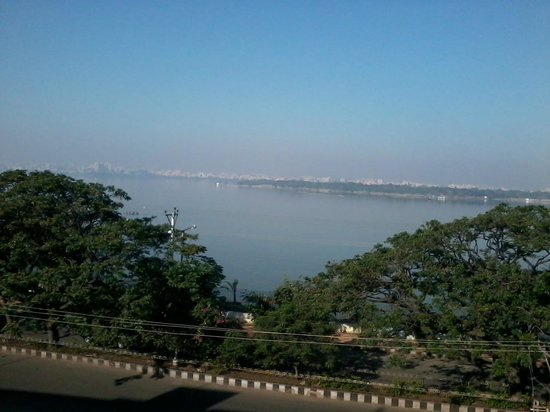 juSTa On Necklace Road, Hyderabad: View of the Hussainsagar_Restaurant Terrace